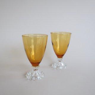 vintage Anchor Hocking Boopie glass/ビンテージ アンカーホッキング ブーピー グラス/ワイングラス(770)