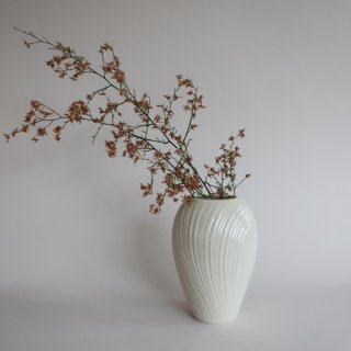 Vintage lenox flower vase/ビンテージ Lenox社製 陶器 フラワーベース/花器/花瓶(776)