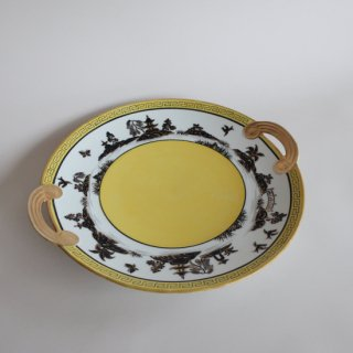 vintage NORITAKE made in japan plate 1910's/ビンテージ ノリタケ オリエンタル プレート/皿(778)