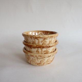 vintage USA Sponge wear ceramic bowl/ビンテージ 陶器 ボウル(832B)