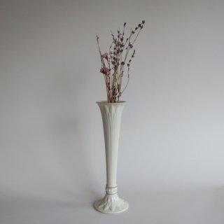 Vintage lenox flower vase/ビンテージ Lenox社製 陶器 フラワーベース/花器/花瓶(838)