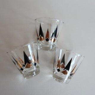 Vintage 50's shot glass/ビンテージ 1950's ショット グラス(882)