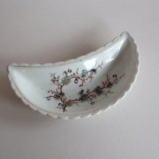 vintage oriental crescent shape small plate/ビンテージ  オリエンタル 三日月形 プレート/小皿(905)