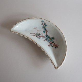 vintage oriental crescent shape small plate/ビンテージ  オリエンタル 三日月形 プレート/小皿(906)