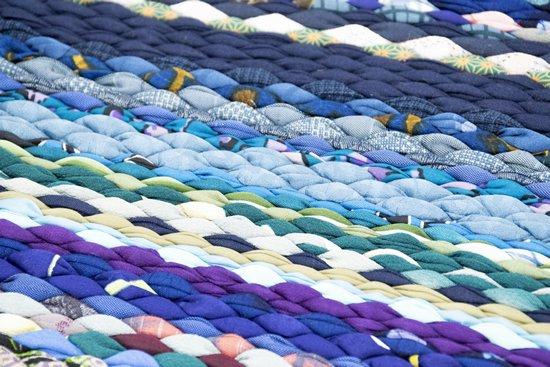 布れっ手織り(ふれっ手)の写真