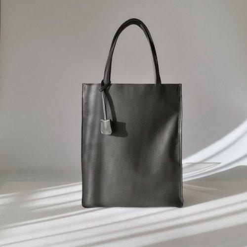 スリムA4トートbag(L)☆彡ダークグレー・お色違いも対応可能です・受注制作