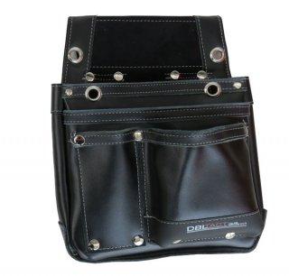 本革 釘袋 卓越 ブラック DTL-07 BK DBLACT