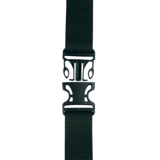 作業用ベルト ロング ワンタッチ式 ブラック【1.5m×48mm】PS153 プロスター