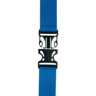 作業用ベルト ロング ワンタッチ式 ブルー【1.5m×48mm】PS154 プロスター