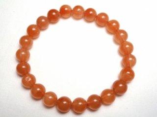 オレンジルチルクォーツ ブレスレット 約8mm