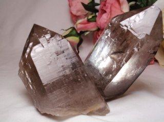 ブラジル産 スモーキー カテドラル水晶
