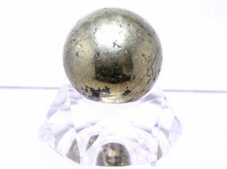 ペルー産チャルコパイライト 丸玉 30mm
