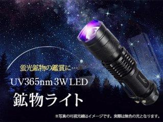 UV365nm 3W LEDブラックライト