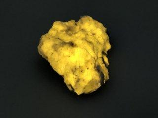 強蛍光 ウェルネライト 黄色蛍光 柱石 30g