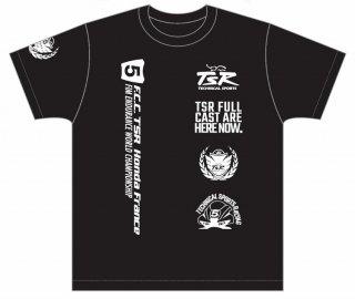 2021 TSRチームTシャツ・ブラック