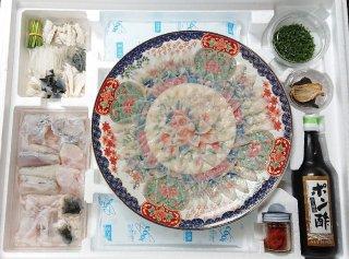 とらふく ふくフルコース陶器絵皿セット