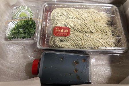 ■日本蕎麦(生)3人前(温かい蕎麦用)つゆ付き:年越し蕎麦などに・・・