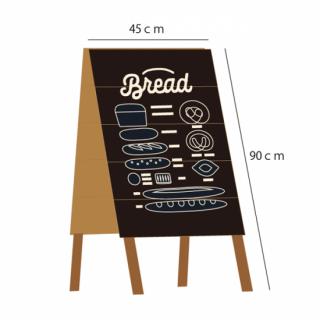 90cm×45cm A型 大型Shop看板 カフェ看板 全9色