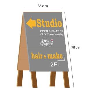 70cm×35cm A型 Shop看板 カフェ看板 全9色