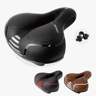 GORIX ゴリックス 肉厚クッション低反発サドル (GX-C118) 穴あきサドル・衝撃吸収・お尻痛くない・やわらかい・ロードバイクから電動自転車他