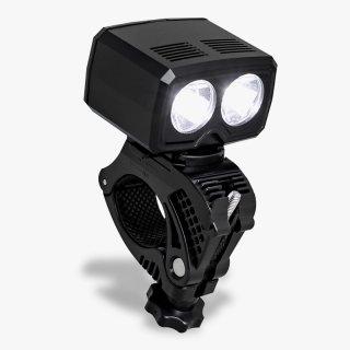 GORIX ゴリックス 自転車 ライト usb充電 防水 LEDライト明るい 盗難防止 自転車ライト 工具不要 1200mAh 長時間 フロントライト (GX-FL1567)