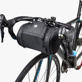 GORIX ゴリックス 自転車 フロントバッグ 自転車用 ハンドルバッグ ロードバイク ブラック(B15)