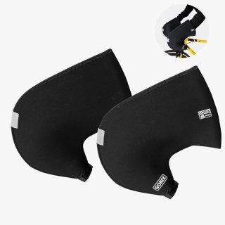 GORIX ゴリックス ドロップハンドル用防寒カバー手袋 ハンドルカバー ネオプレーン製 防風防水グローブ 自転車用(もっとほっと)