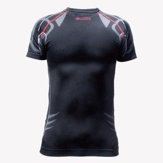 GORIX ゴリックス 3D シームレスボディマッピング 自転車インナーTシャツ M/L 速乾 適正着圧 加圧シャツ G-COOL