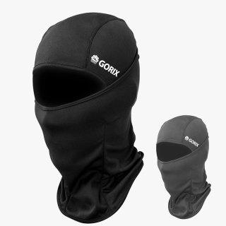 GORIX ゴリックス 夏用 アイスマスク クール メッシュ フェイスマスク 6WAY バラクラバ 夏 自転車 uv 日焼け (mask-6)