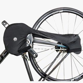 GORIX ゴリックス チェーンカバー 自転車 輪行 汚れ防止 ブラック(Chain Cover)