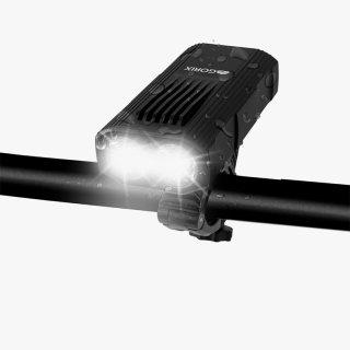 GORIX ゴリックス 自転車ライト 高防水 usb充電 高輝度LEDライト 明るい 盗難防止 ヘッドライト フロントライト (GX-FL1644)
