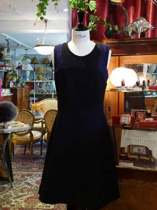 ワンピース 黒 ノースリーブ 秋冬パリレディースファッション フランス製 フレンチデザイナー