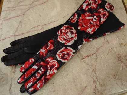 手袋 ランバン パリレディースファッション フランス製