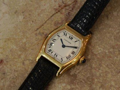 【カルティエ腕時計ヴィンテージ】トーチュSM1980年代エクストラフラット