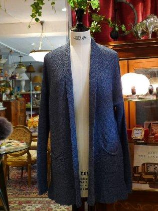 ロングガーディガン 3色 秋冬パリレディースファッション フランス製