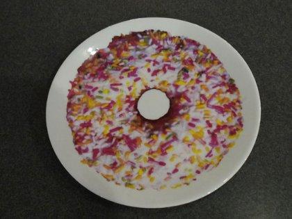 皿 ドーナツ