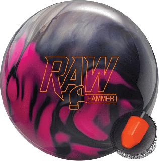 ハンマー ローハンマー<パープル/ピンク/シルバー>(ボウリングボール)の商品画像