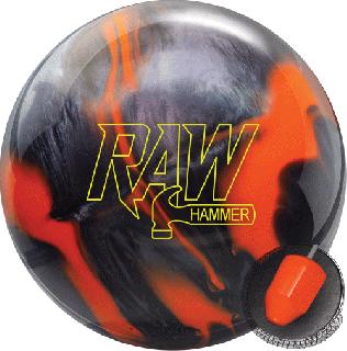 ハンマー ローハンマー<オレンジ/ブラック>(ボウリングボール)の商品画像