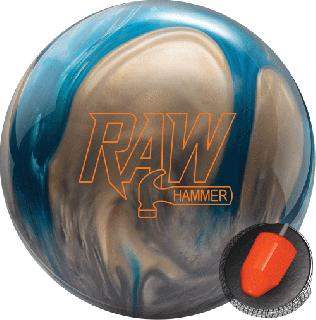 ハンマー ローハンマー<ブルー/シルバー/ホワイト>(ボウリングボール)の商品画像