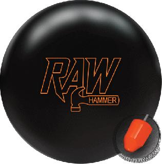 ハンマー ローハンマー<ブラック>(ボウリングボール)の商品画像