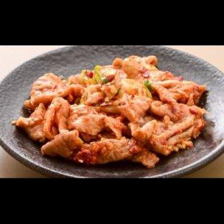 焼肉屋のホルモン!国産豚使用 辛みそ漬け 豚ホルモン (豚大腸) 1kg【冷凍】