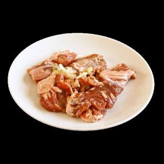 焼肉屋のホルモン!味付け 国産 豚ハラミ 1kg 青森県田子町産にんにく入り【冷凍】
