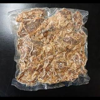 焼肉屋の網焼き牛カルビ丼の具 500g