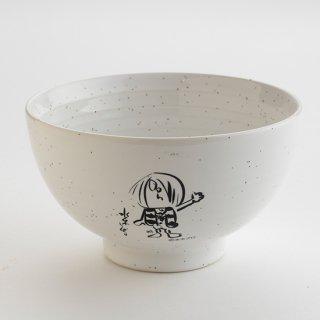 サイン入り鬼太郎アート茶碗