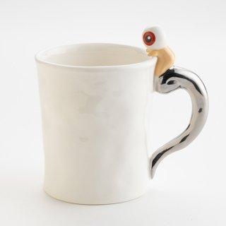 マグカップ 目玉おやじ 銀