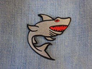 アイロンワッペン サメ A