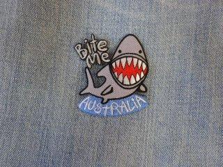 アイロンワッペン サメ C