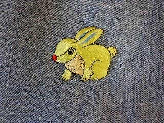 アイロンワッペン ウサギ A