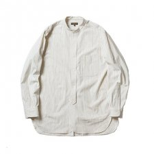 <img class='new_mark_img1' src='https://img.shop-pro.jp/img/new/icons1.gif' style='border:none;display:inline;margin:0px;padding:0px;width:auto;' />A  Vontade  Banded Collar Shirts -Cotton/Nepped Silk Brushed Sheeting-