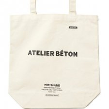 <img class='new_mark_img1' src='https://img.shop-pro.jp/img/new/icons1.gif' style='border:none;display:inline;margin:0px;padding:0px;width:auto;' />ATELIER BETON  CANVAS TOTE BAG